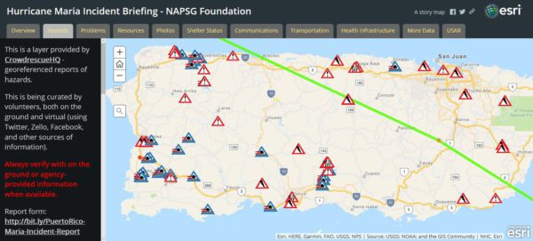 Basic Hurricane Maria Incident Map Available Napsg Foundation
