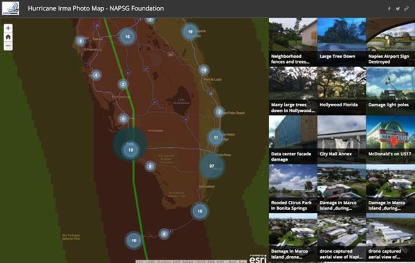 napsg app is esri story map of the month napsg foundation