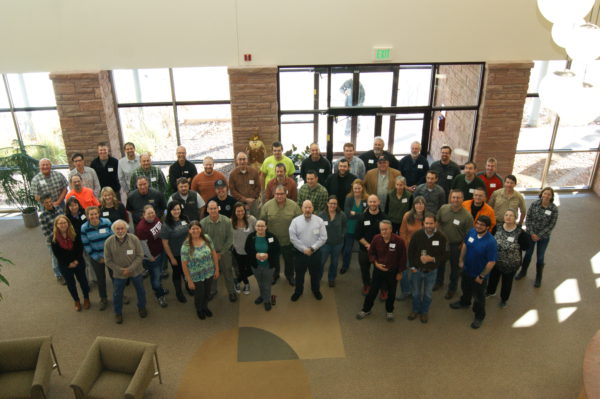 Photo of the 50 SAR GIS Workshop participants.