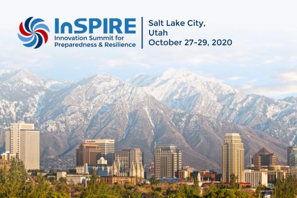 InSPIRE Save the Date: Salt Lake City, Utah, October 27-29, 2020
